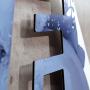 3D buchstaben Alumnium verbund detail 3